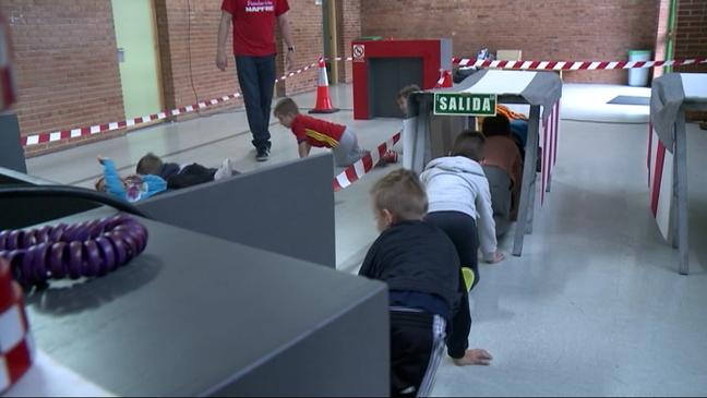 Curso de prevención de accidentes en un colegio de Gijón