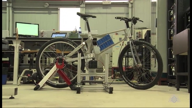 Prototipo de bicicleta eléctrica ideada por investigadore asturianos