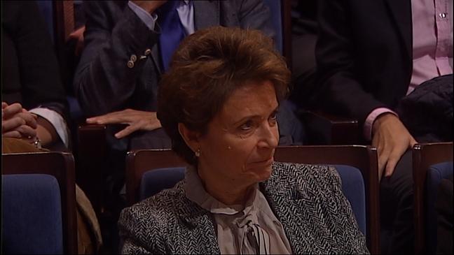 La economista galardonada, Ana Isabel Fernández