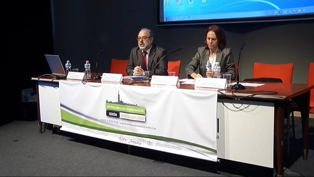 Jornada sobre desarrollo y medio ambiente de la La Cátedra Milla del Conocimiento Xixón Sostenibilidad