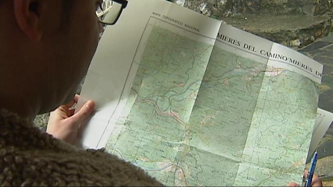 Mapa de Mieres