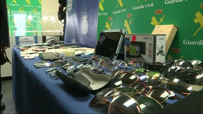 Desarticulada una banda que robó en 62 domicilios de varias provincias -