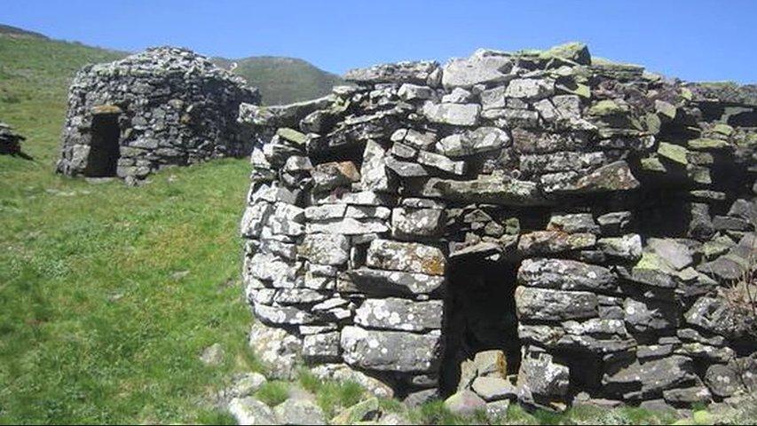 Construcción de la piedra en seco