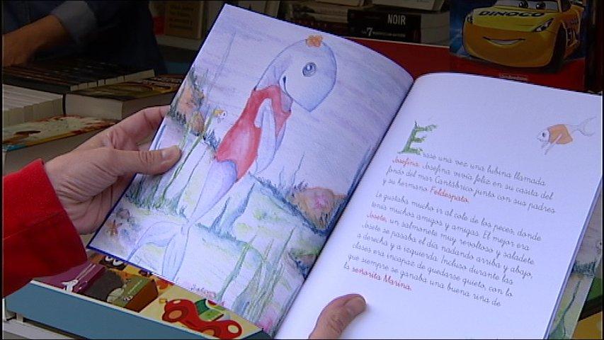 Ilustración del cuento la lubina Josefina