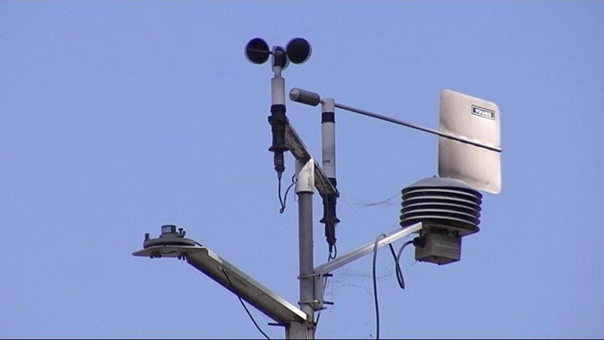 Medidor de la calidad del aire