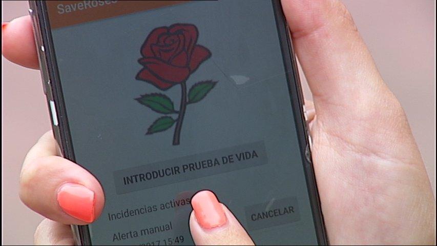 Aplicación save roses