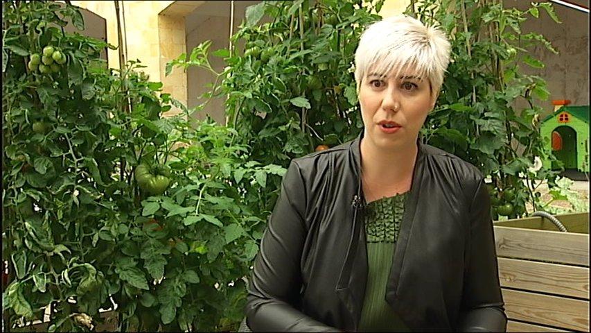 La investigadora Cristina Espinosa