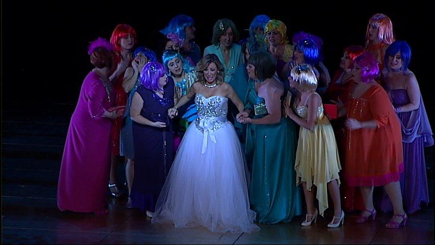 Un momento de la ópera 'L'elisir d'amore'
