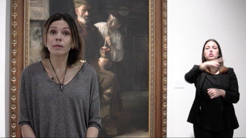 Museo de Bellas Artes con el proyecto Arches