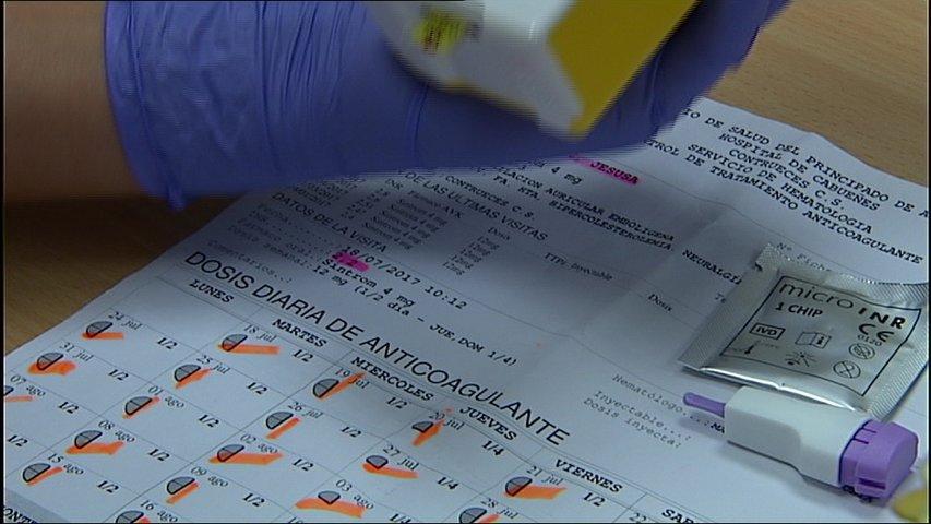 Médicos de varios centros de salud de Oviedo rechazan realizar el control del Sintrom