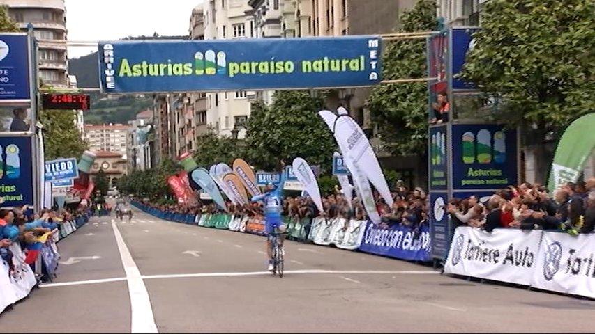 Etapa final de la Vuelta Ciclista a Asturias 2017