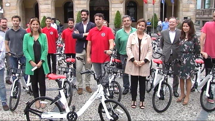 Gijón colocará estaciones de bicicletas de alquiler para todo el mundo