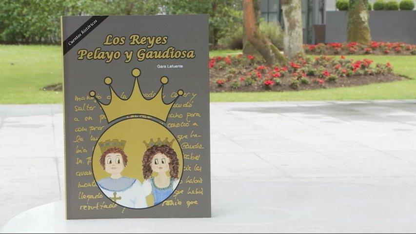 Portada del libro Los Reyes Pelayo y Gaudiosa