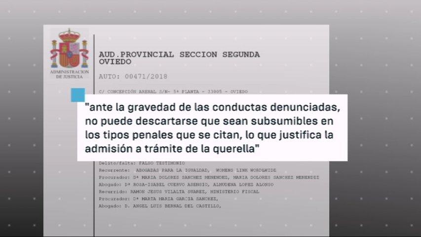 Extracto de la denuncia interpuesta contra el psiólogo forense Ramón Vilalta