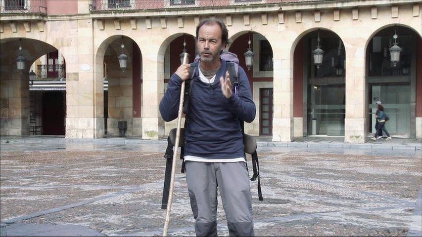 Camilo Sousa, presentador de Los Caminos de Covadonga