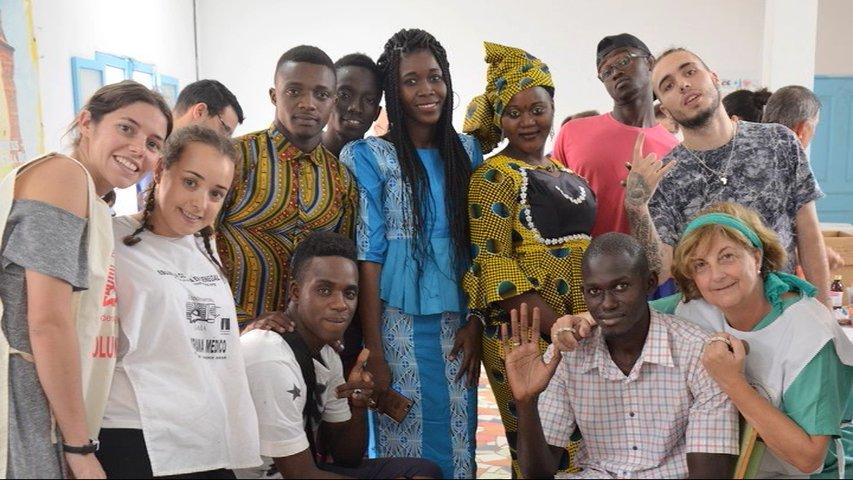 Dos farmacéuticas asturianas participan en un proyecto de desarrollo en Senegal