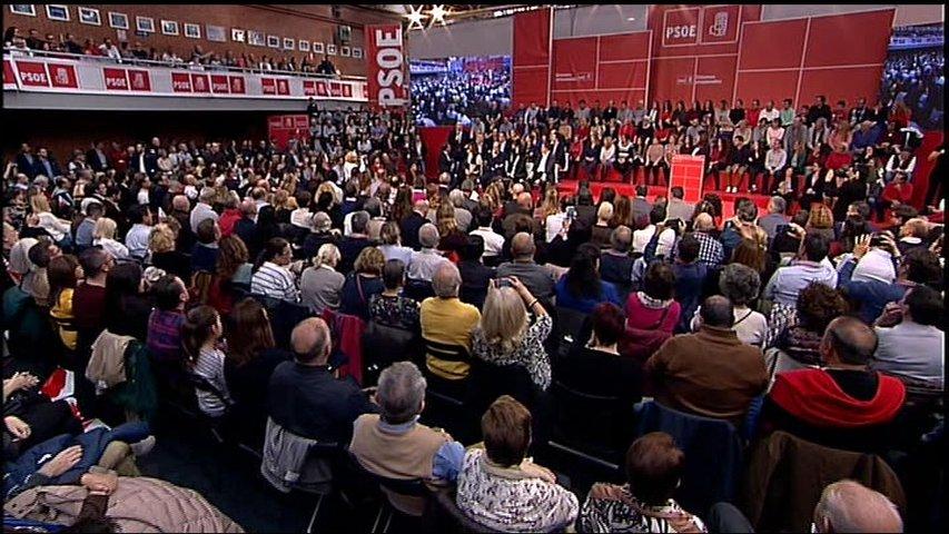 El PSOE proclama a sus candidatos para las elecciones autonómicas