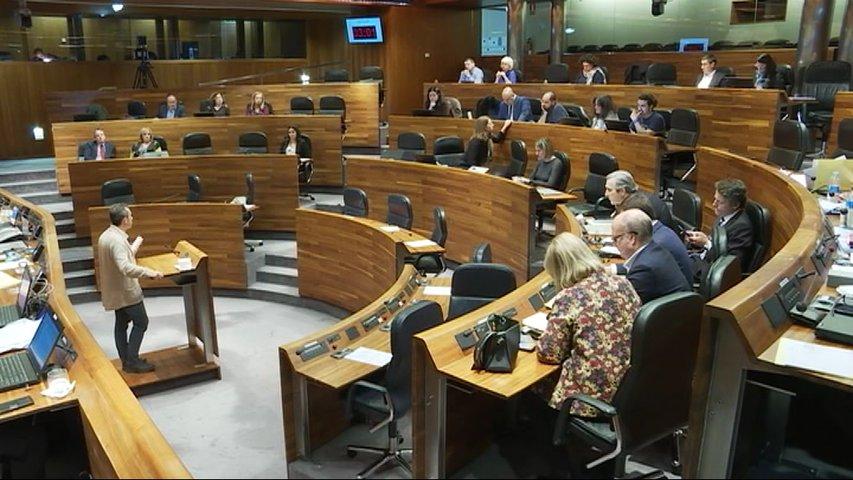 Sala de plenos de Junta General del Principado