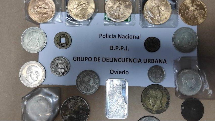 8cd9ed61d77b Detenida por robar monedas de oro de su expareja