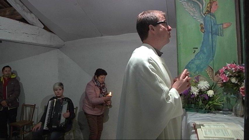 Celebración de Santo Domingo de la Calzada en Fontescavadas, Boal