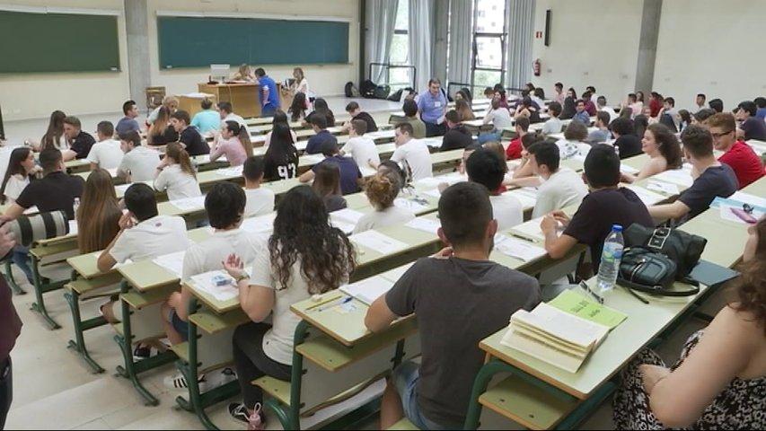 Examen de la Ebau 2019 para acceder a la Universidad