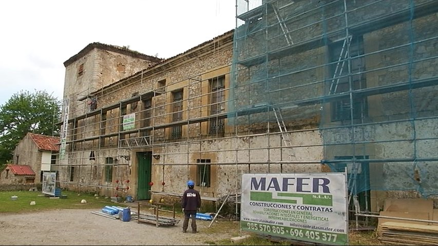 Comienza la restauración del Palacio de Peñalver