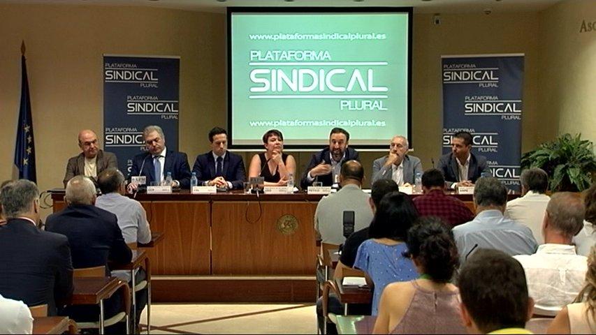 Plataforma sindical plural que reúne a varios sindicatos españoles
