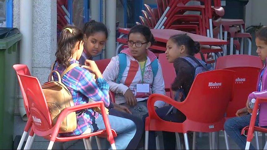 Niños saharauis del programa 'Vacaciones en Paz'