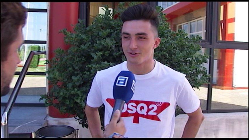 El joven centrocampista Manu García