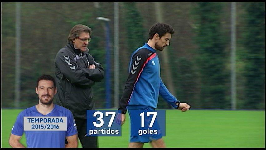 Datos de Toché como jugador del Real Oviedo