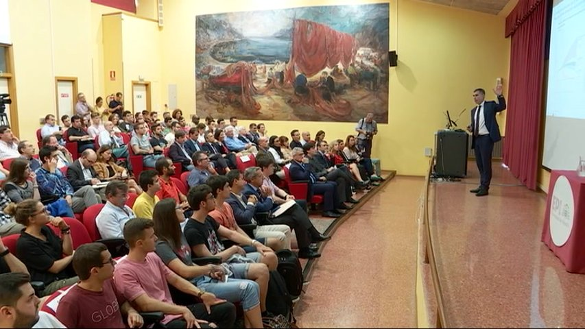 Rui Teixeira da una conferencia sobre los retos de sostenibilidad energética en EDP
