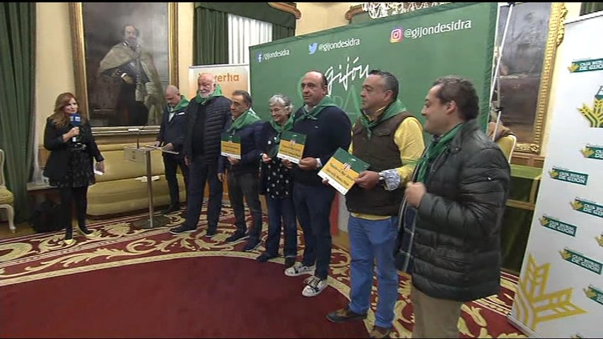 El certamen 'Gijón de Sidra' entrega los galardones de su edición 2019