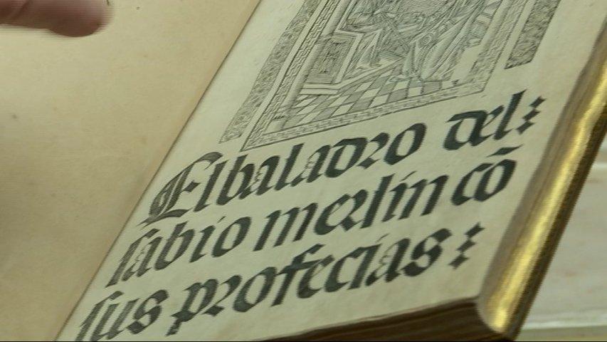 Tesoros de la biblioteca de la Universidad de Oviedo