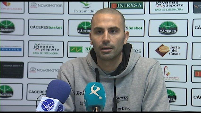 El Liberbank Oviedo cae derrotado ante el Cáceres