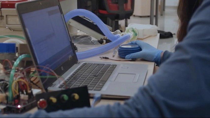 El centro de I+D de Arcelor en Asturias, el único del grupo que da soluciones a la pandemia