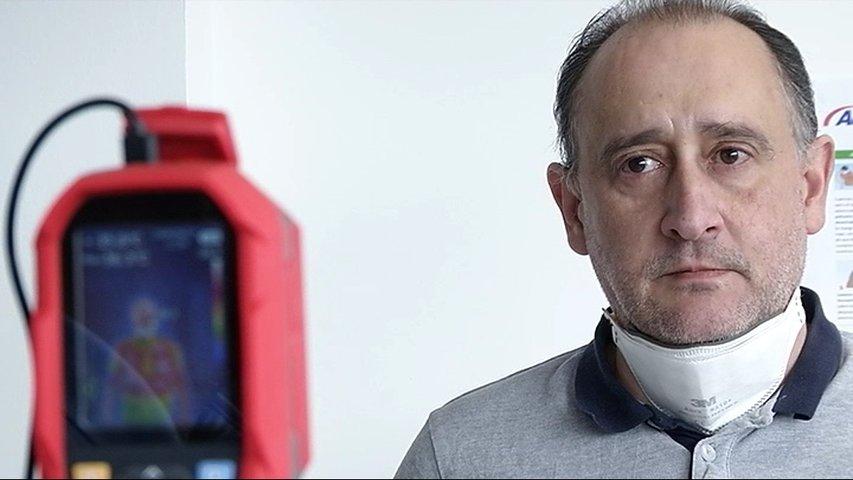 Las cámaras termográficas, una herramienta de lucha contra la COVID-19