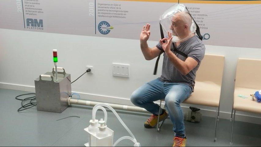 Desarrollan en Asturias un respirador no invasivo para pacientes de COVID-19