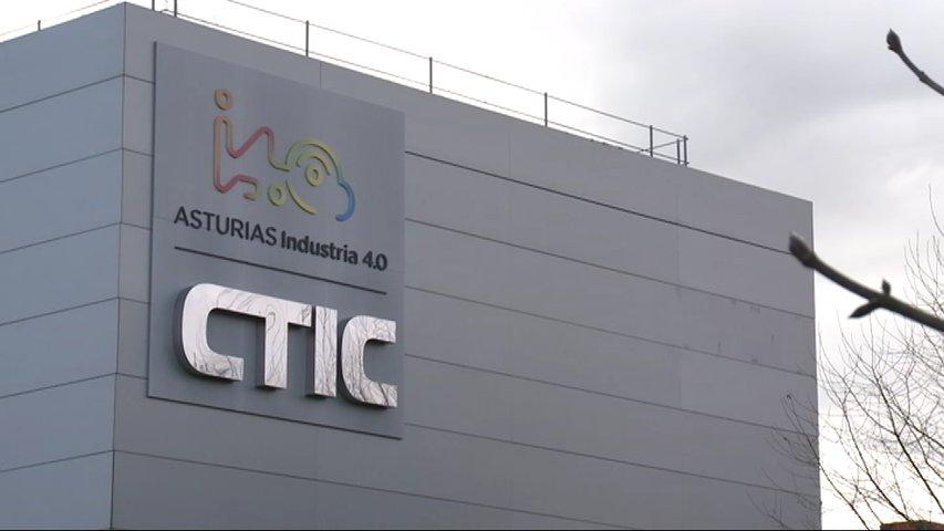 Edifico de CTIC en el Parque Tecnológico de Gijón