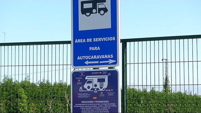 Aparcamiento de caravanas