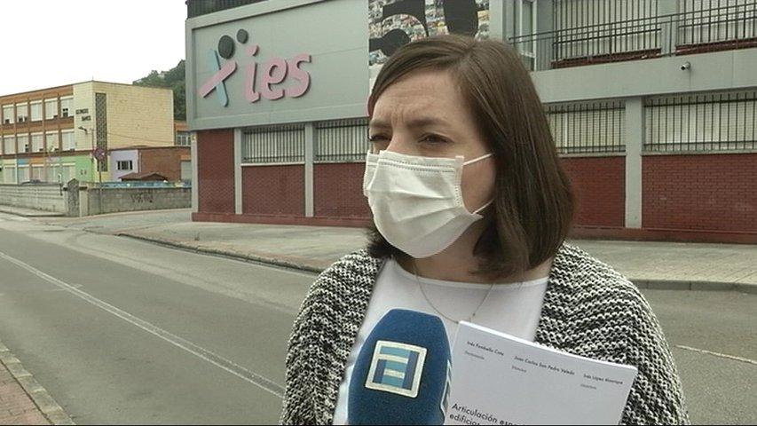 Inés Fombella, investigadora langreana de la Universidad de Oviedo,