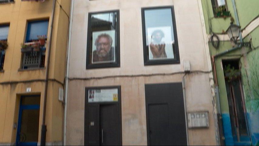 Exposición 'Guerreros' en Cimadevilla, Gijón