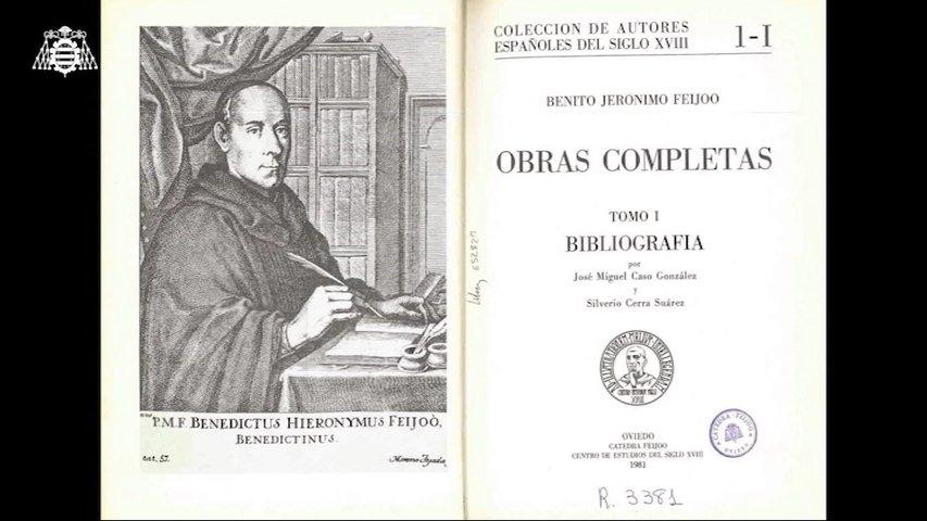 La Universidad publica la primera edición de la poesía completa de Feijoo