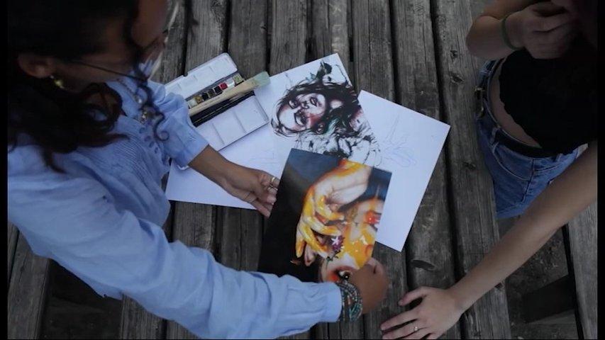 'Artistas en combate contra el cambio climático'