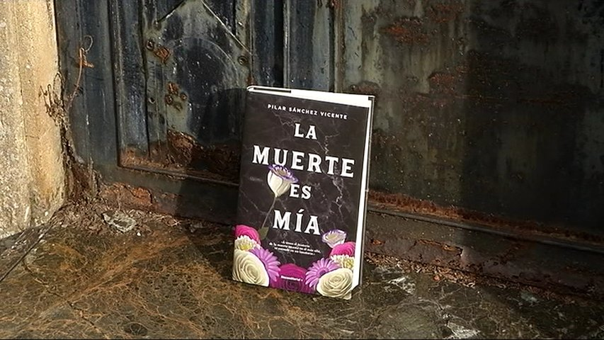'La muerte es mía', última novela de Pilar Sánchez Vicente