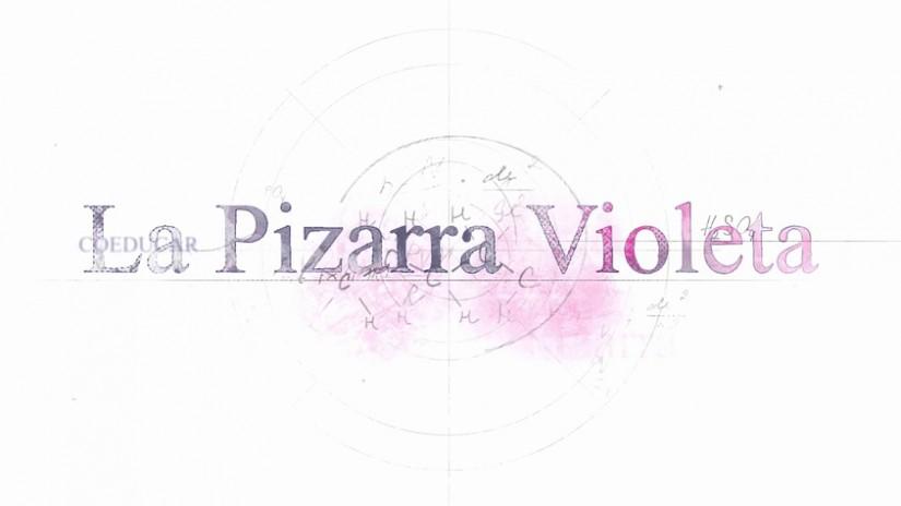 La pizarra violeta