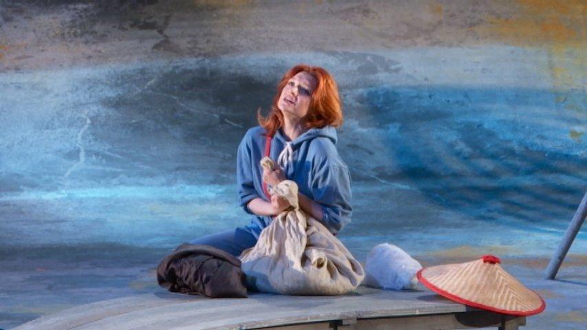 Una representación de ópera en el Campoamor de Oviedo