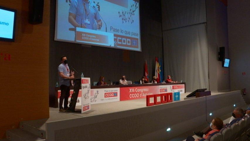 Zapico aspira a la reelección para consolidar el cambio de CCOO Asturias