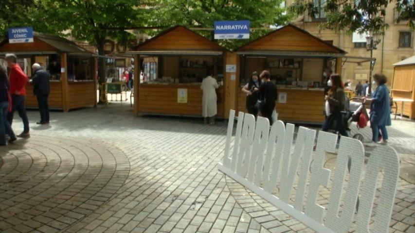 Casetas en la Feria LibrOviedo