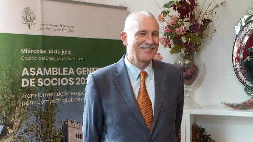 José María Salazar toma las riendas de la Asociación Asturiana de Empresa Familiar