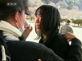 Sorprendidas por el terremoto de Japón